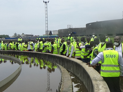 MPs Laud SSGL Ltd Over Lavender Hill Treatment Plant